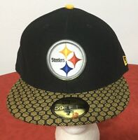 New Era Pittsburgh Steelers NFL OnField 59FIFTY 5950 Fitted Sz 7 1/2 CAP HAT NWT