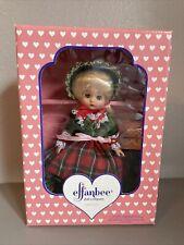 Effanbee Annual Christmas Doll Mint In Box - 1995 - Mv247