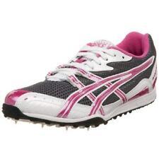 ASICS Women's Hyper-Rocketgirl XC Track Shoe, Storm/Pink/White, 10 B US