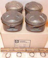 1989-1993? Honda B16 Civic MUGEN Rally, FORGED piston set/4 81.8mm ASSO of Italy