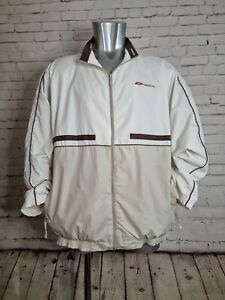 Reebok Classic 90s Soft Shell Track Top / Jacket in classic reebok colours Large