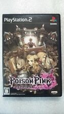 Used PS2 POISON PINK Banpresto Video Game from Japan