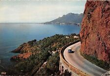 BR3628 La route de la Corniche D or au virage de la pointe de l esquilon  france