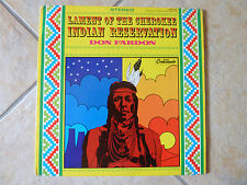 DON FARDON * THE LAMENT OF THE CHEROKEE INDIAN RESERVATION * US LP GNPS 2044