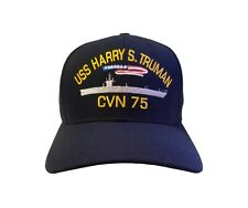 USS Harry S Truman CVN-75 (Command Ball Cap) Original Style at Commissioning