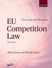 EU Competition Law: Text, Cases, and Materials, Good Condition Book, Sufrin, Bre