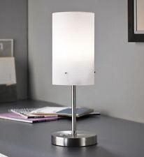 LED Nachttischlampe Leselampe Schreibtischlampe Wohnzimmer Glas T90 B-Ware