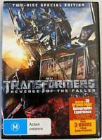 Transformers Revenge of the Fallen 2-Disc Special Edition DVD 2009 Movie