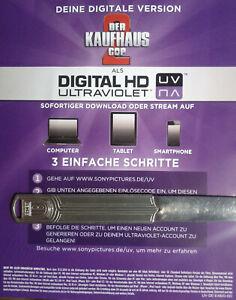 Der Kaufhaus Cop 2 HD UV Ultraviolet Code