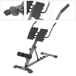 Rückentrainer Bauchtrainer Rückenstrecker Hyperextension Fitness Gerät Klappbare