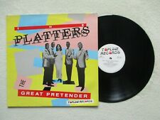 "LP 33T THE PLATTERS ""The great pretender"" TOPLINE RECORDS TOP 123 UK 1985  /"