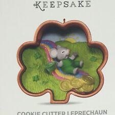 Hallmark Keepsake Cookie Cutter Ornament St. Pattys Shamrock 2017 Leprechaun #2