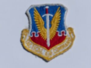 Used Vintage TACTICAL AIR COMMAND Embroidered Military Patch U.S. Air Force