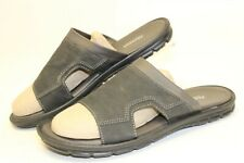 Bata Mens 44 11 Gray Slides Sandals Casual Shoes