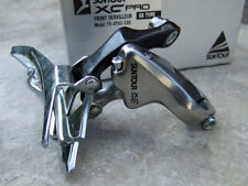 1980's  Suntour XC Pro, GX Type Front Derailleur 31.8mm Clamp, Top Pull For MD