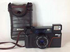 NIKON L35AF2 35mm FILM POINT & SHOOT CAMERA 35mm 1:2.8 LENS