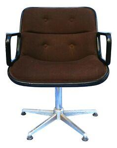 Armchair Executive Chair Design Charles Pollock For knoll Years 60 -2 Available