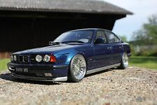 Bmw m5 e34 1:18 transformación tuning KL alpina real llantas de aluminio base Otto Mobile 535i 535