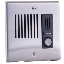 Aiphone Le-Da - Flush Mount Door Station, Stainless Steel Cover
