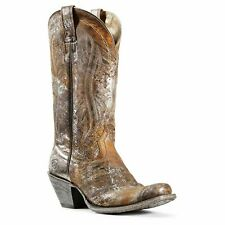 Womens Ariat Circuit Salem Brushed Sliver Boot 10029634