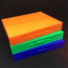 Microscope Slide Storage Plastic Box Holding 100PCS Slides