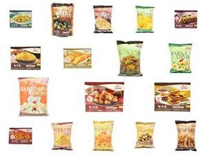 Saras Indian Snacks/Namkeens-All Varieties (Pack of 5)