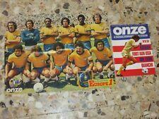 MAGAZINE ONZE N° 6 1976 OM MARSEILLE OL LYON FINALE COUPE FRANCE KEEGAN BRESIL