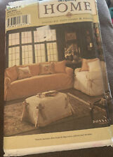 Simplicity Home #8581 Loose Fit Slipcovers & Pillows Uncut