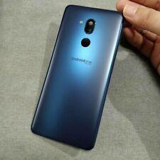 Genuine LG G7 One Q910UM Battery Back Cover Glass+ Camera Frame Lens Blue