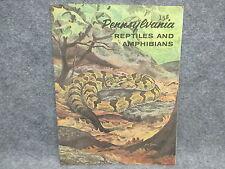 Vintage Pennsylvania Fish Commission Reptiles & Amphibians Book Booklet 3rd Ed