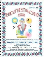 """ACCORDION, ACCORDION BOOKS,""""SONGS TO CRACK YER LIPS"""", PLAY BY #S **WITH CD**"""