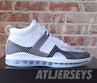 fd7f84fdfe1 Nike Lebron James x John Elliott Icon QS White Black AQ0114-100 Size 7-