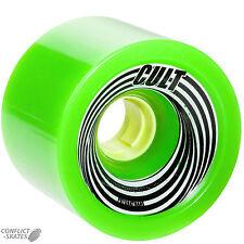 """Cult """"zilla"""" longboard skateboard wheels 83a 72mm race slide freeride vert"""
