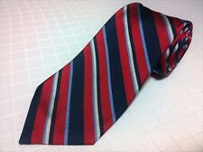 Daniel Cremieux Signature Limited Ed ITALY Regimental Repp Stripe Red White Blue