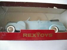 REXTOYS 1938-1940 CADILLAC V16 TORPEDO OPEN BLUE 1/43 SCALE