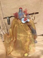 """VYCKIE VAN GOTH 15"""" Unique Gothic JEWELRY STAND  Horror Creepy Altered Doll"""