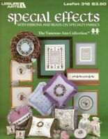 Special Effects Cross Stitch Pattern Booklet 316 Leisure Arts Vanessa Ann 1984