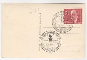 1960 Sep 15th. Souvenir Cover. Deutsche Industrie-Ausstellung, Berlin.