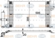 Kondensator, Klimaanlage für Klimaanlage HELLA 8FC 351 302-191