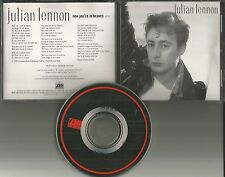 Beatles John JULIAN LENNON Now you're in heaven RARE 1991 PROMO DJ CD single USA
