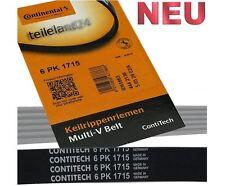Contitech Keilrippenriemen 6PK1715 Rip Belt  Ford Focus 1,8 Diesel mit Klima