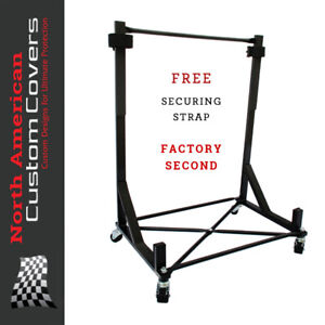 050Bx Heavy-Duty Hardtop Stand Storage Trolley Cart Rack & Securing Strap