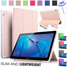 Smart Stand Cover For Huawei MediaPad T3 10 [9.6 Inch] Flip-Fit Lightweight Case