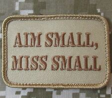 AIM SMALL MISS SMALL USA ARMY MORALE DESERT VELCRO® BRAND FASTENER PATCH