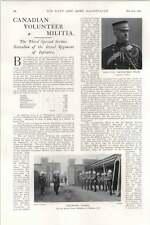 1902 Lady Boswall Launch Cruiser Berwick Canadian Volunteer Militia George White