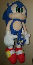 """22"""" SONIC THE HEDGEHOG Plush Gold Buckles NWT Great Eastern Entertainment"""