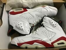 Air Jordan 6 Retro Chicago OG Size 9,10/10 condition, White/Varsity Red/Black