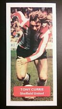ENGLAND - SHEFFIELD UNITED - TONY CURRIE - Score UK football trade card