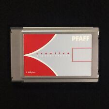 Pfaff Creative Re-writable Embroidery Designs Card for Models 2144 & 2140