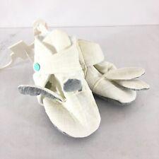Cat & Jack Baby Crib Shoes Bunny Rabbit Unisex Ivory Size 6-9M